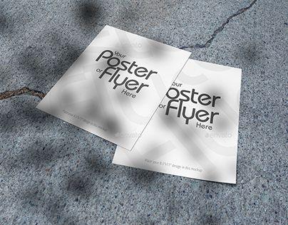 "Check out new work on my @Behance portfolio: ""Poster/Flyer Mockups V04"" be.net/...."