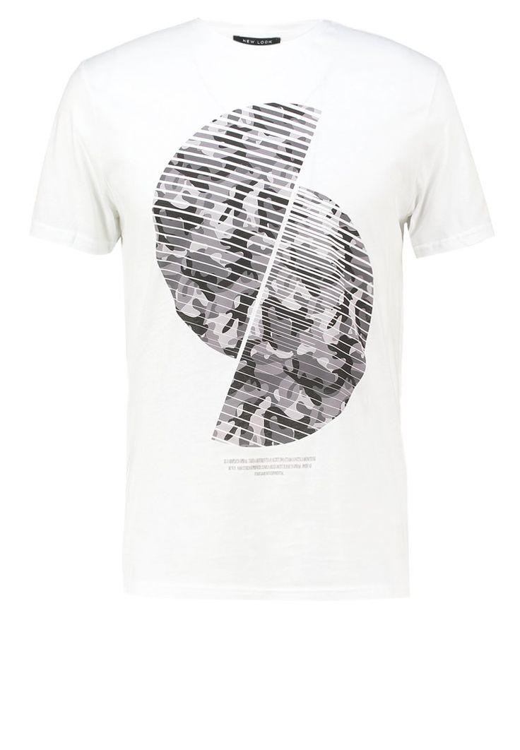 New Look TShirt print white Bekleidung bei Zalando.de | Material Oberstoff: 100% Baumwolle | Bekleidung jetzt versandkostenfrei bei Zalando.de bestellen!