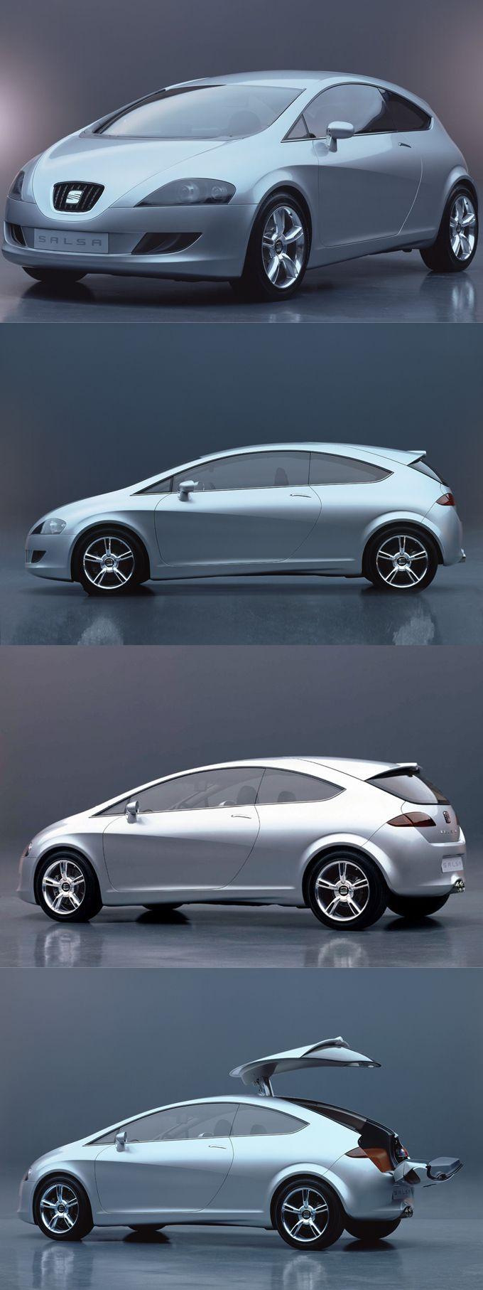 2000 Seat Salsa / Walter de Silva @ ItalDesign / concept León / Spain Italy / silver / 17-358