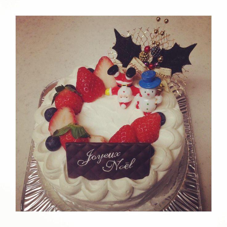 作ったもの クリスマスケーキ