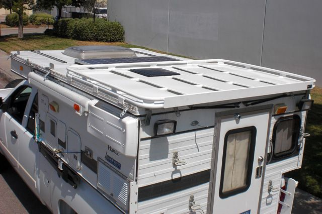 Aluminess Roof rack for a Four Wheel Camper | Aluminess ...