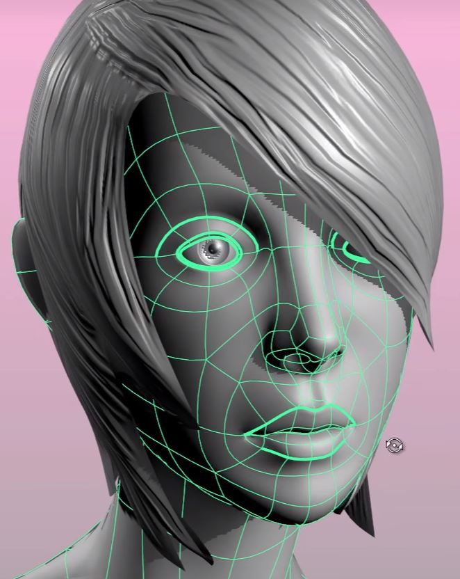 Introduction To Character Modeling In Blender Kickass : The best face topology ideas on pinterest ds d