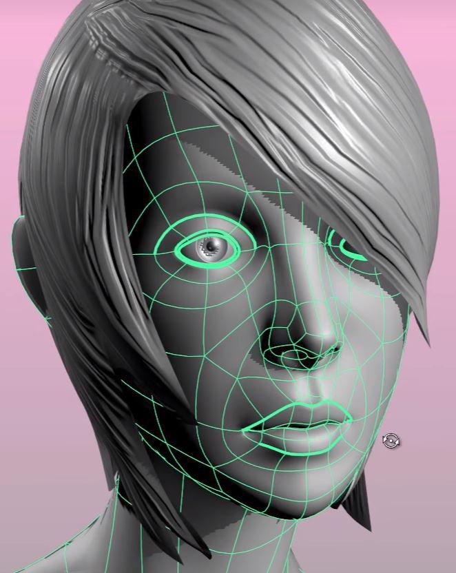 Face Topology - James Taylor
