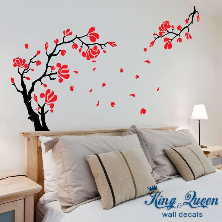 wall decoration stickers trend for home decor ideas with birch tree decal leaves bedroom autumn fall interior