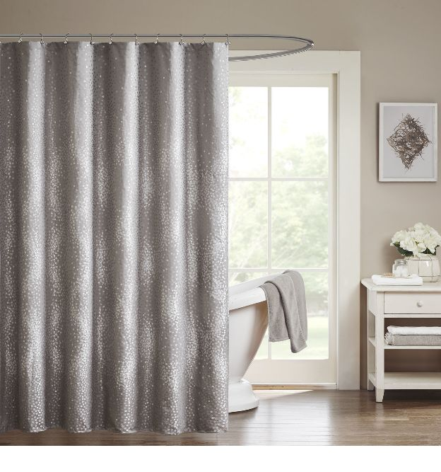 Extra Long Shower Curtain Gray : Best shower curtain ideas