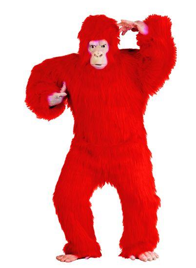 Red Gorilla Suit http://www.dascheap.com/costumes/red-gorilla-suit-costume-full-body-red-gorilla-jumpsuit-w-mask-hands-feet.html
