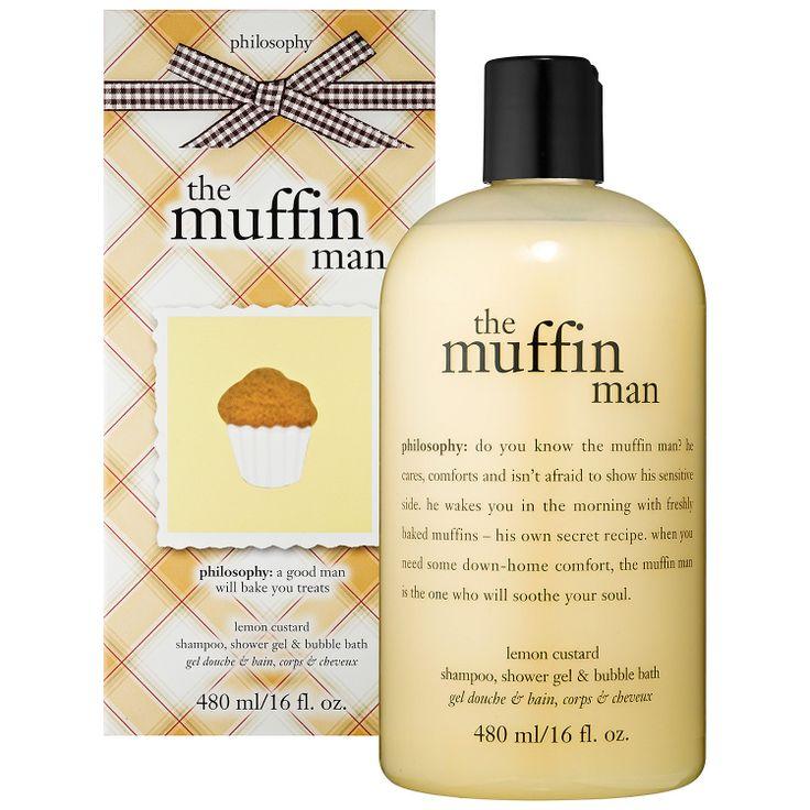 Philosophy The Muffin Man Lemon Custard Shampoo Shower Gel Bubble Bath I