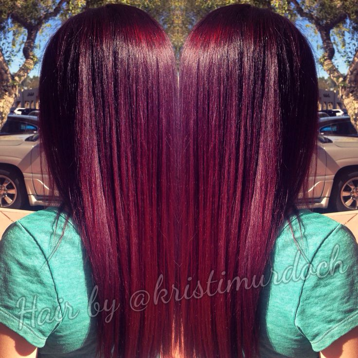 Best 25+ Violet red hair color ideas on Pinterest | Plum ...