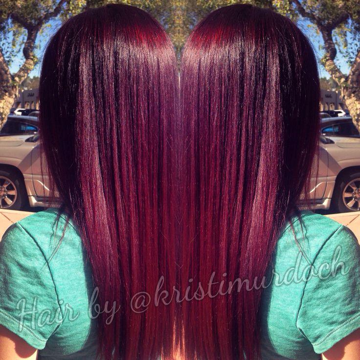 best 25 violet red hair color ideas on pinterest plum