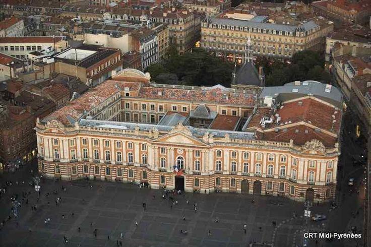 place du capitole toulouse | Cloître et Eglise des Jacobins à Toulouse en Haute-Garonne (Midi ...