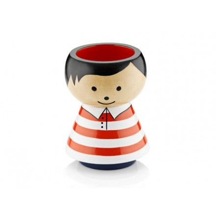 decovry.com - Lucie Kaas | Bordfolk Potloodbeker | Boy Red Stripes