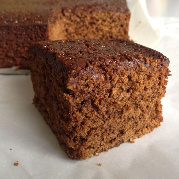 Tim Kendall's Prize Winning Ginger Parkin 4 oz unsalted butter or margarine 3 oz dark muscovado sugar 6 oz golden syrup 4 oz black treac...