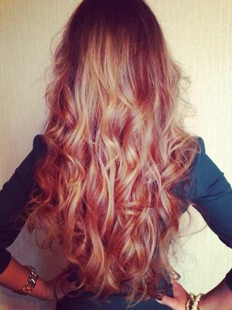 If my hair looked like this when it's long...