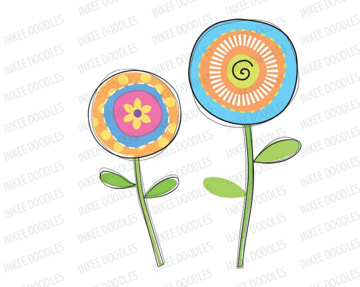 59 best birthday clip art digitalstamps images on pinterest items similar to spring flowers clipart floral clip art decorative blooms orange pink blue diy girl birthday card invitations party decorations doodle 30038 mightylinksfo
