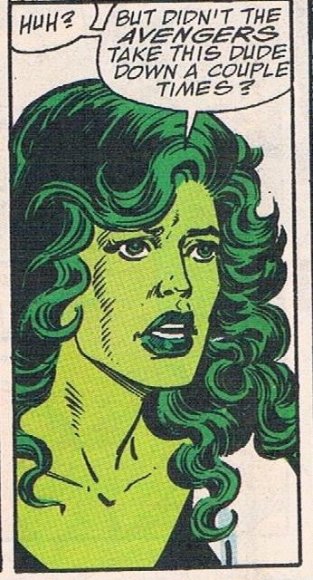 The unbelievably awful She-Hulk character