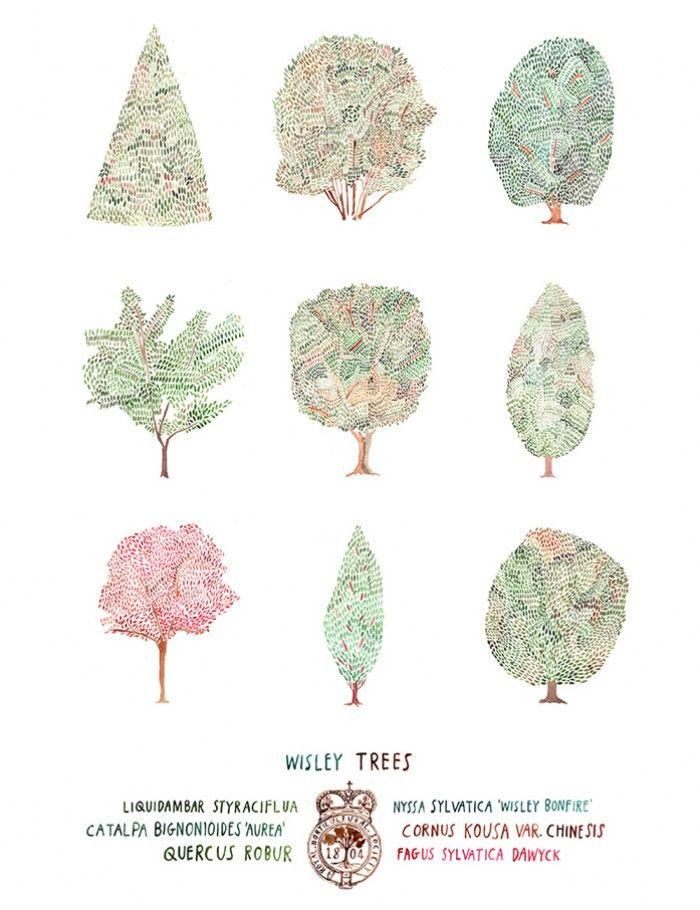 Nigel Peake - Trees