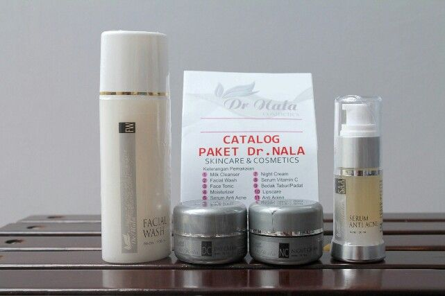 Paket 4 series Acne Dr Nala Cosmetics harga 140rbu, produk sdh BPOM sehingga aman dan hasilnyandpt dipertanggungjawabkan drnala.com
