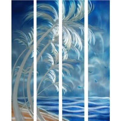Palm Tree Metal Wall Art best 25+ palm tree bathroom ideas on pinterest | palm tree crafts