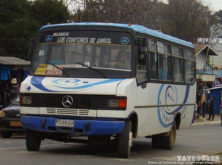 https://flic.kr/p/GLWduB | ← Buses Los Confines de Angol ©→ | Metalpar Pucara - M.Benz - Urbano Angol - imagen Sergio Arteaga 2016 - Angol   (TATOBUSES)