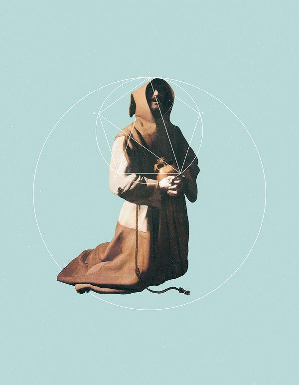 Not Art: NOT St Francis in Meditation || Warsheh || warsheh.co/