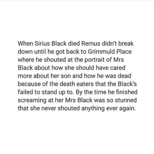 And that is why Mrs. Black is inexplicably fond of James Sirius Potter.