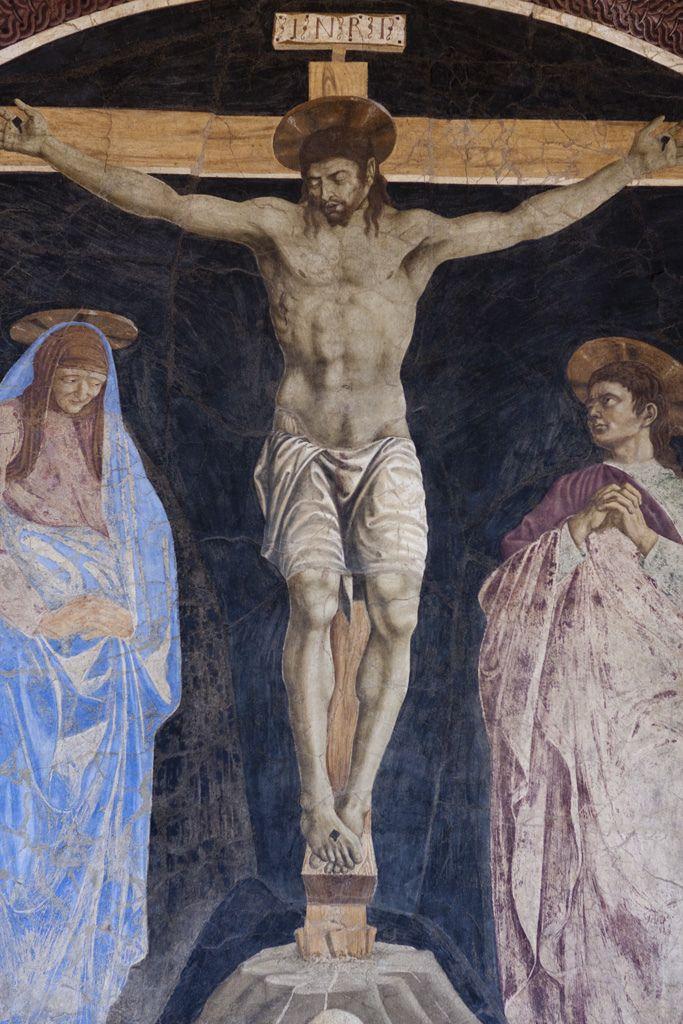 Андреа дель Кастаньо, Распятие, Санта Аполлония, Флоренция.