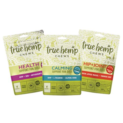 (USA & CANADA) Enter daily through 11/14/16 for a chance to win 1 of 4 TRUE HEMP CHEWS for Dogs Variety Packs from True Leaf Pet here: https://moderndogmagazine.com/giveaways/true-hemp-chews Contest by Modern Dog magazine. Please share and good luck! WOOO!