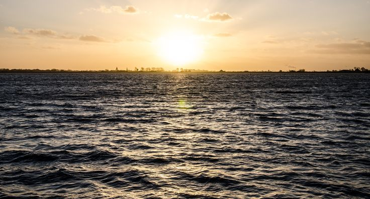 Sunset on the lake by Petru Cojocaru on 500px