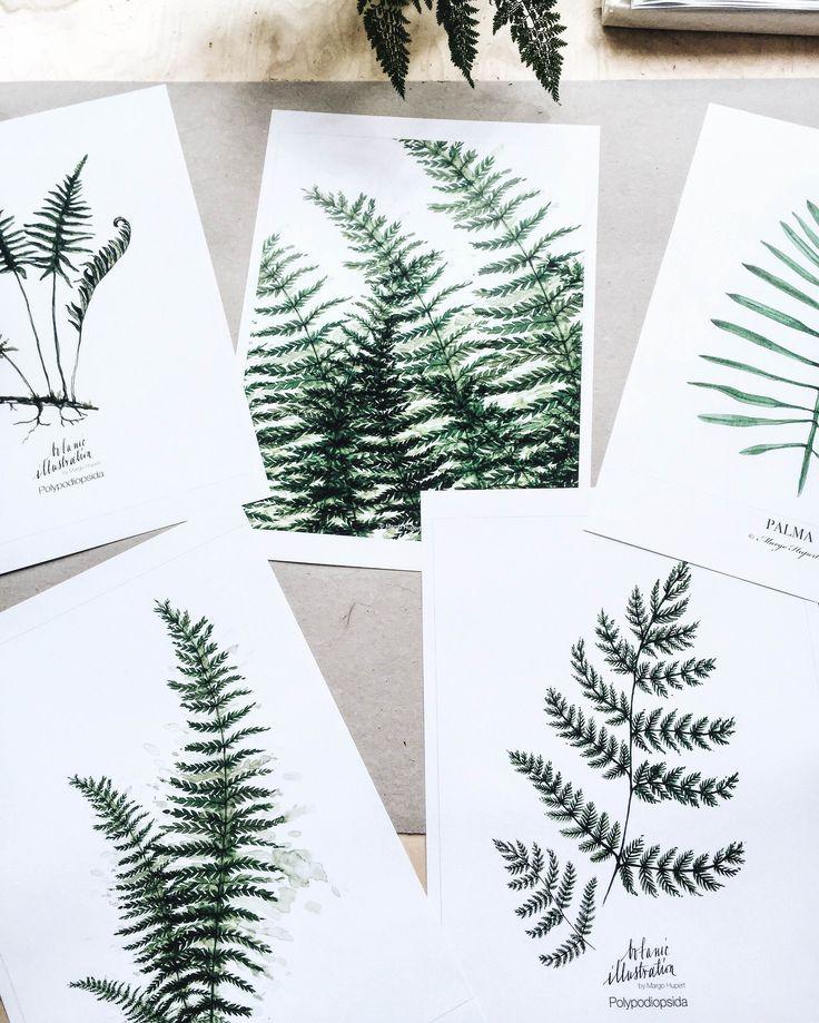 my botanic prints margohupert.pl