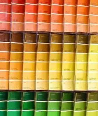 Interior paint color chart paint colors pinterest - Colour charts for interior painting ...