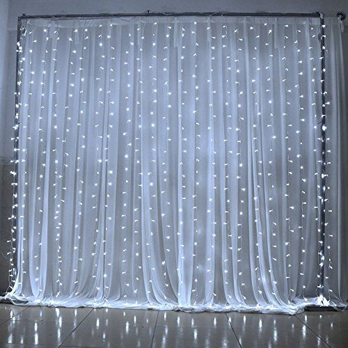 3Mx3M 300 LED Icicle Lights Outdoor String Light Curtain…                                                                                                                                                                                 More