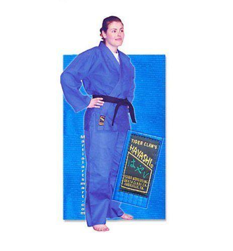Blue Single Weave Hayashi Judo Gi - Size 5 by Tiger Claw. Blue Single Weave Hayashi Judo Gi - Size 5. 5.