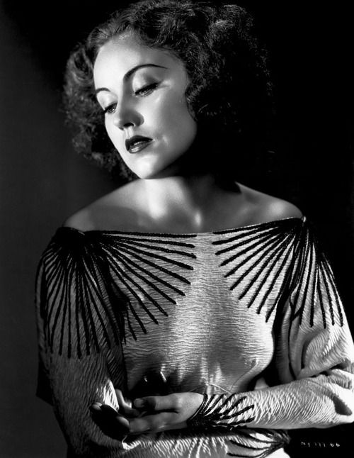 "Fay Wray, 1935~~ ""All my life I've written something, I've always cared much more about writing than I do about acting."""