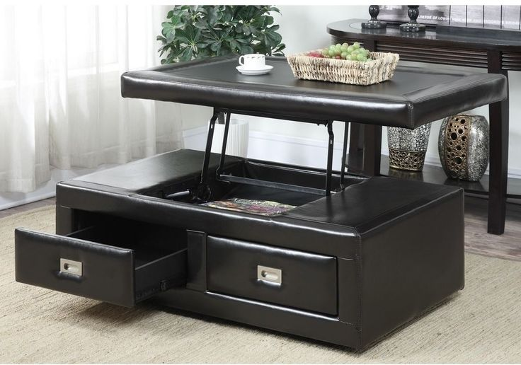 25+ Best Ideas About Storage Ottoman Coffee Table On
