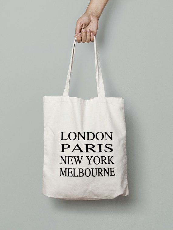 Choose Your Cities Canvas Tote Bag  Subway art tote by Mybebecadum