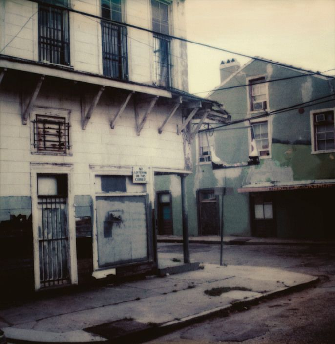 Antoine D'Agata USA. New Orleans. Louisiana. 2001.