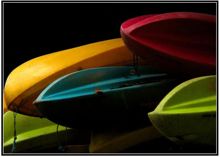 Kayaks from Puerto Limon, Costa Rica byPhil Douglis