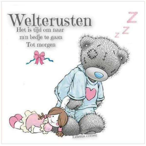 Good Morning Everyone In Dutch : Best goedenacht welterusten images on pinterest