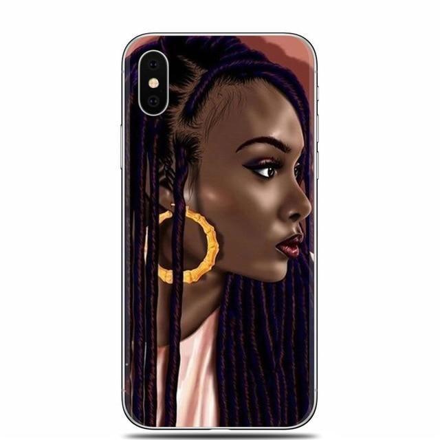 Iphone Melanin Popping Phone Case Box Braid Poppin Bish Phone Cases Case Cute Phone Cases
