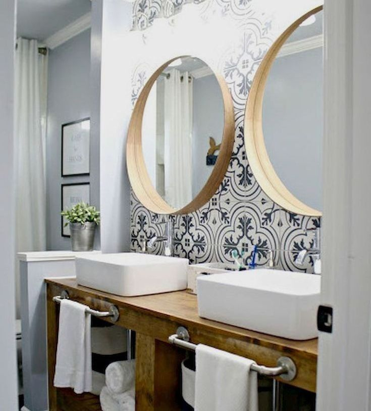 Coole 47 fantastische skandinavische Badezimmerideen, die Sie total lieben werden.