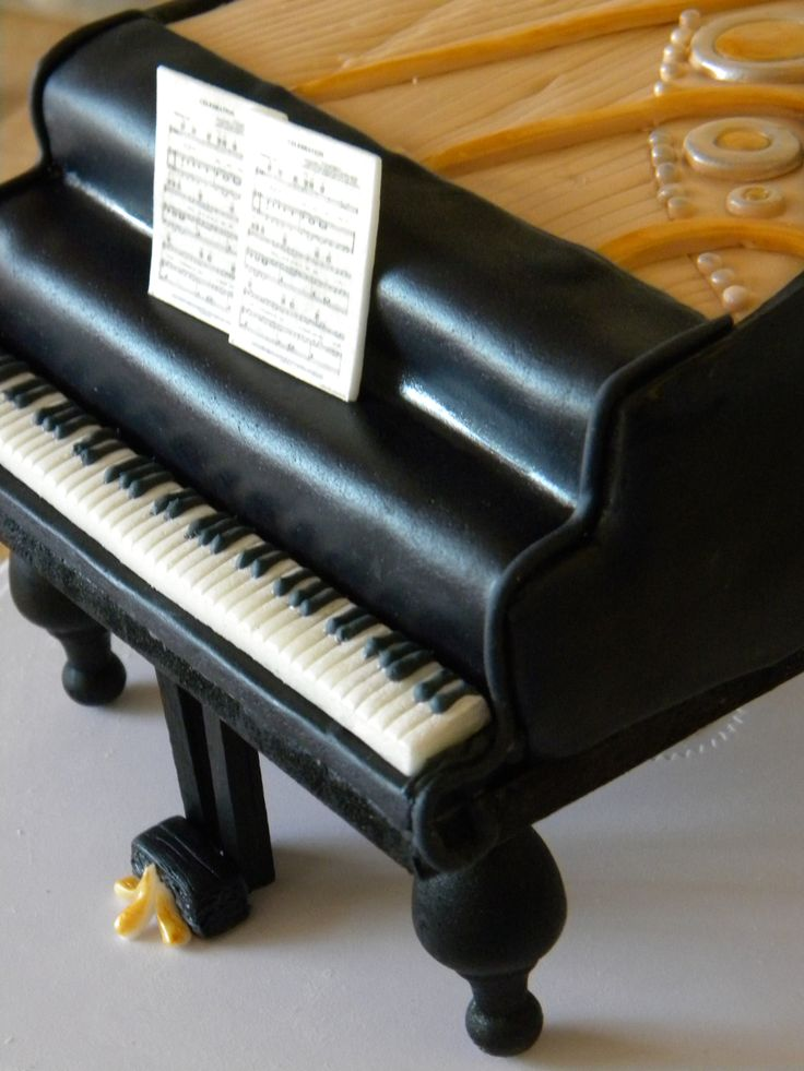 25 Best Ideas About Piano Cakes On Pinterest Music