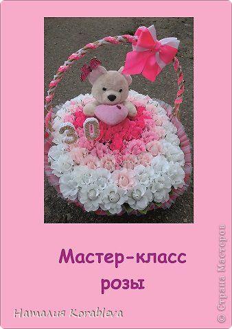Здравствуйте, Страна! Вот решила сделать свой мастер-класс розы! Знаю, в Стране очень большое количество МК по розам, но надеюсь мой тоже будет кому-то полезен! Если же вы, мастерицы будете против, то я обязательно его  удалю! На первой фотографии показана композиция из таких роз! А во ссылочка на мой пост http://stranamasterov.ru/node/629955 фото 1