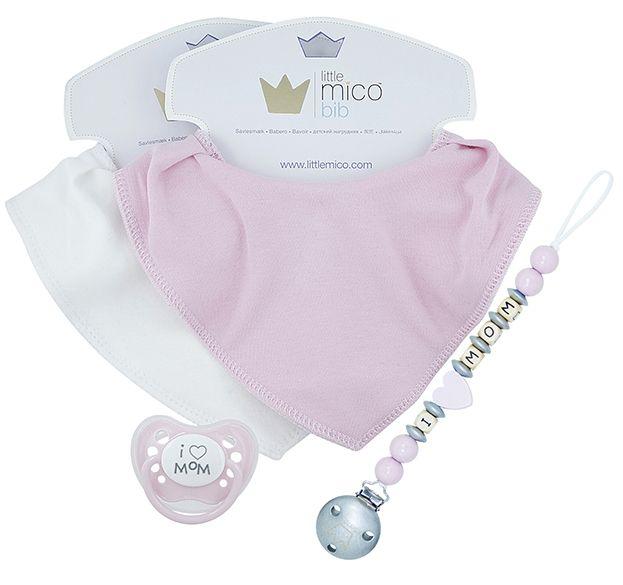 Littlemico™ Pink Gift Set, I Love Mom.