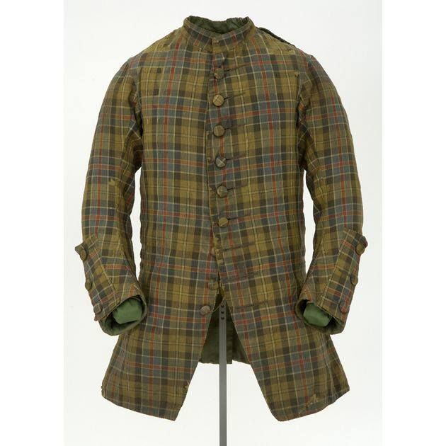 Tartan coat worn by Prince Charles Edward during the '45