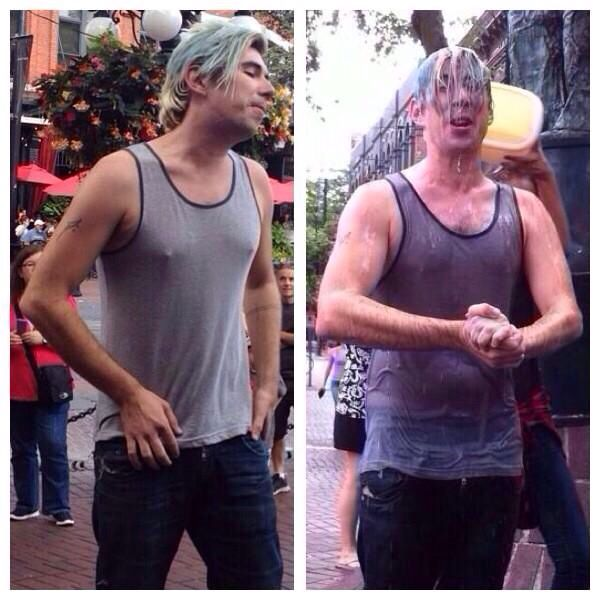 Josh Ramsay did the ALS ice bucket challenge the right way. He donated $100 for every person that dumped water on him. Then he matched that money and donated it to LBD. He ended up donating $2600 to ALS and $2600 to LBD.