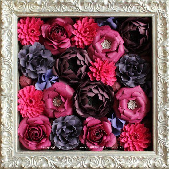 ペーパーフラワー、紙の花