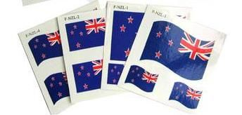 New Zealand Flag Temporary Tattoos  http://www.shopenzed.com/?function=viewprd&prd_id=405272