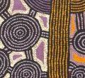 Morris Gibson TJAPALTJARRI - Sans Titre - Art aborigene et art occidental australien, galerie Arts d'Australie Stephane Jacob, Paris