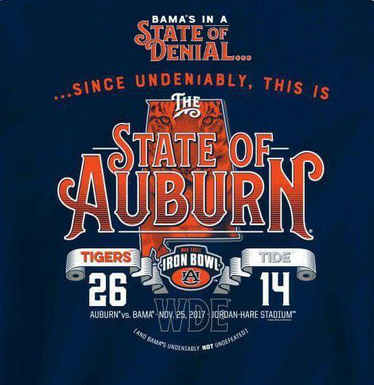 State of Denial vs State of Auburn