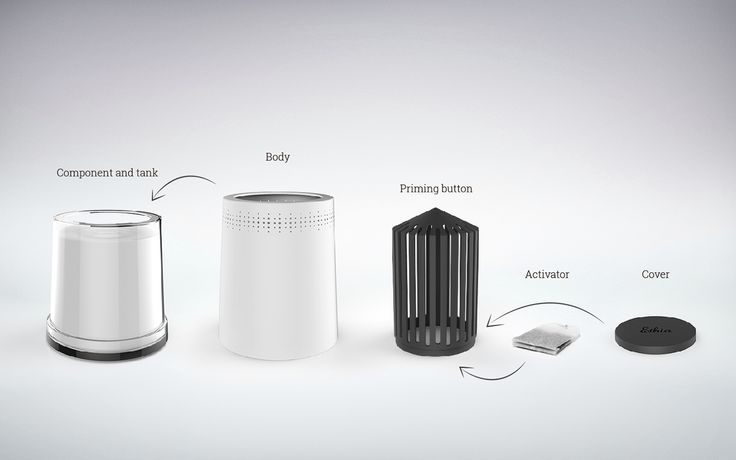 Ethia air purifiers -2013 on Behance